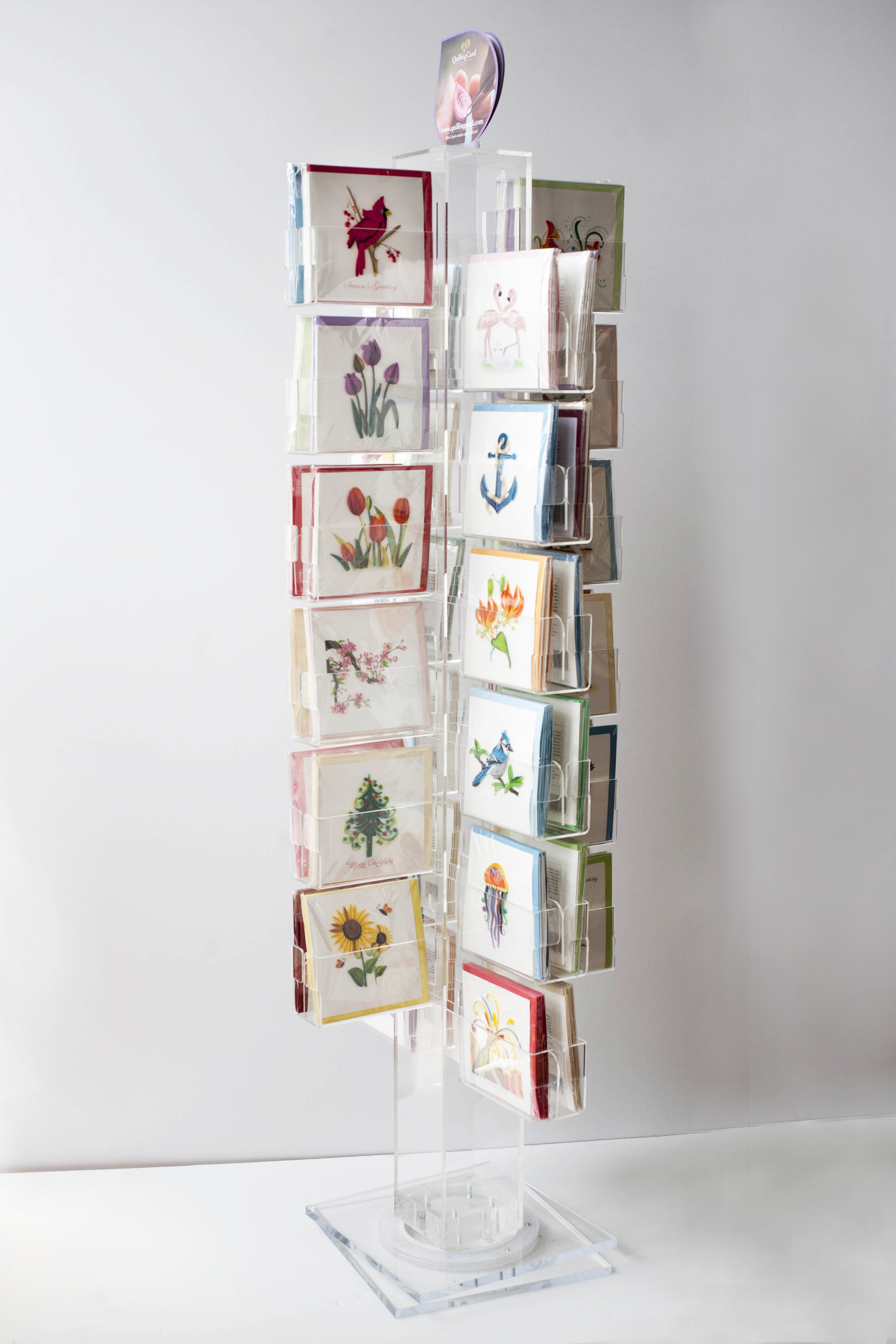 24 pocket greeting card display united products llc greeting card display search for product gcd24 m4hsunfo
