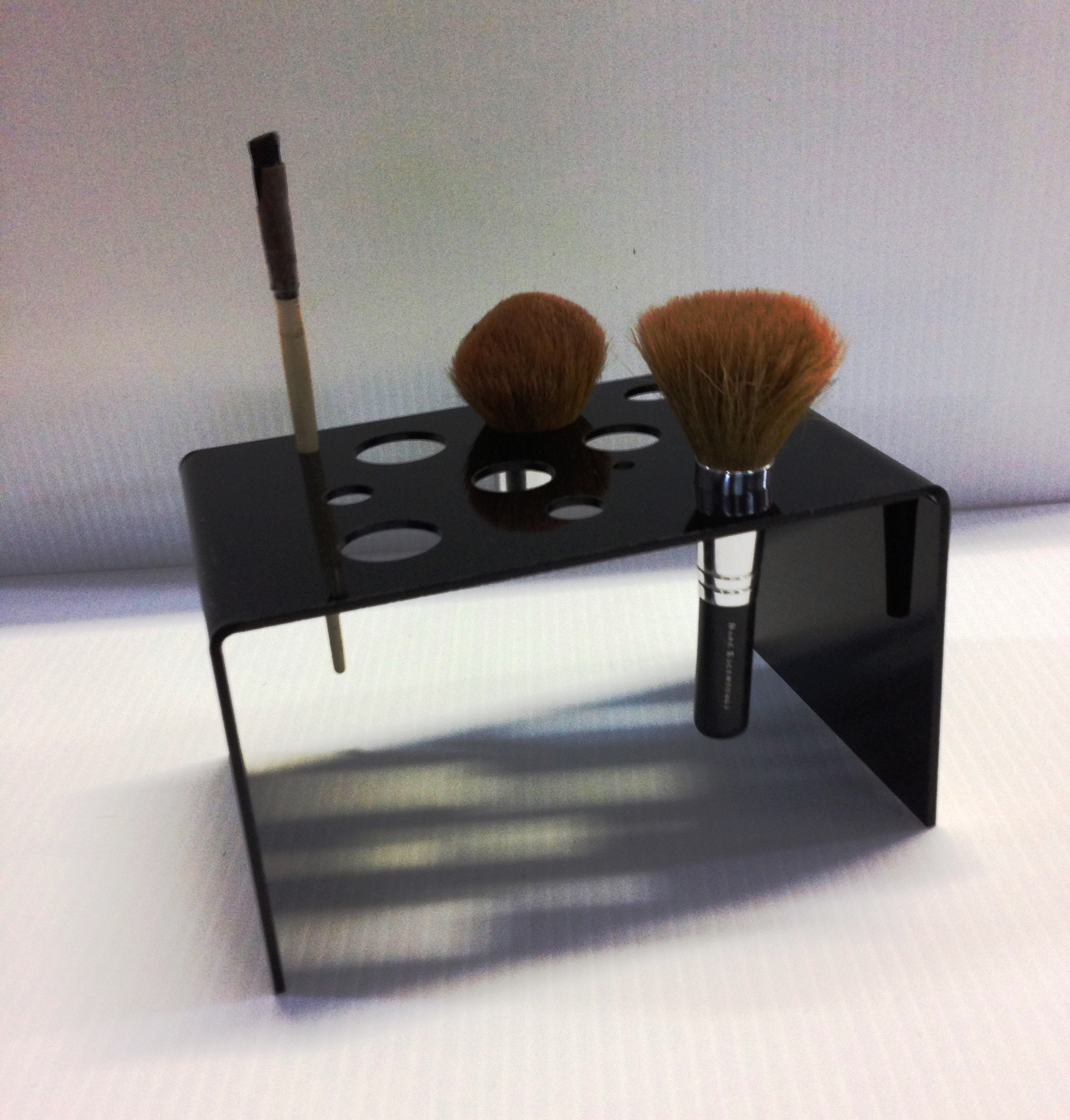 brush holder makeup brush holder cosmetic brish display united products llc. Black Bedroom Furniture Sets. Home Design Ideas