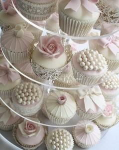 acrylic cup cake