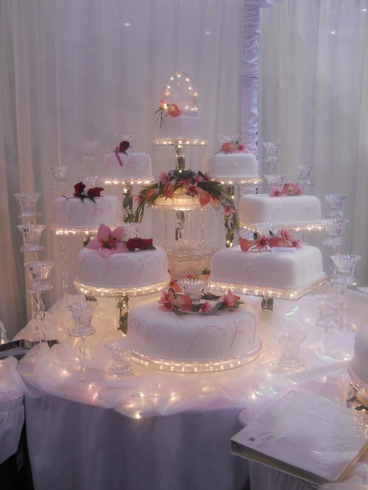 Illuminated Cake Display United Products Llc